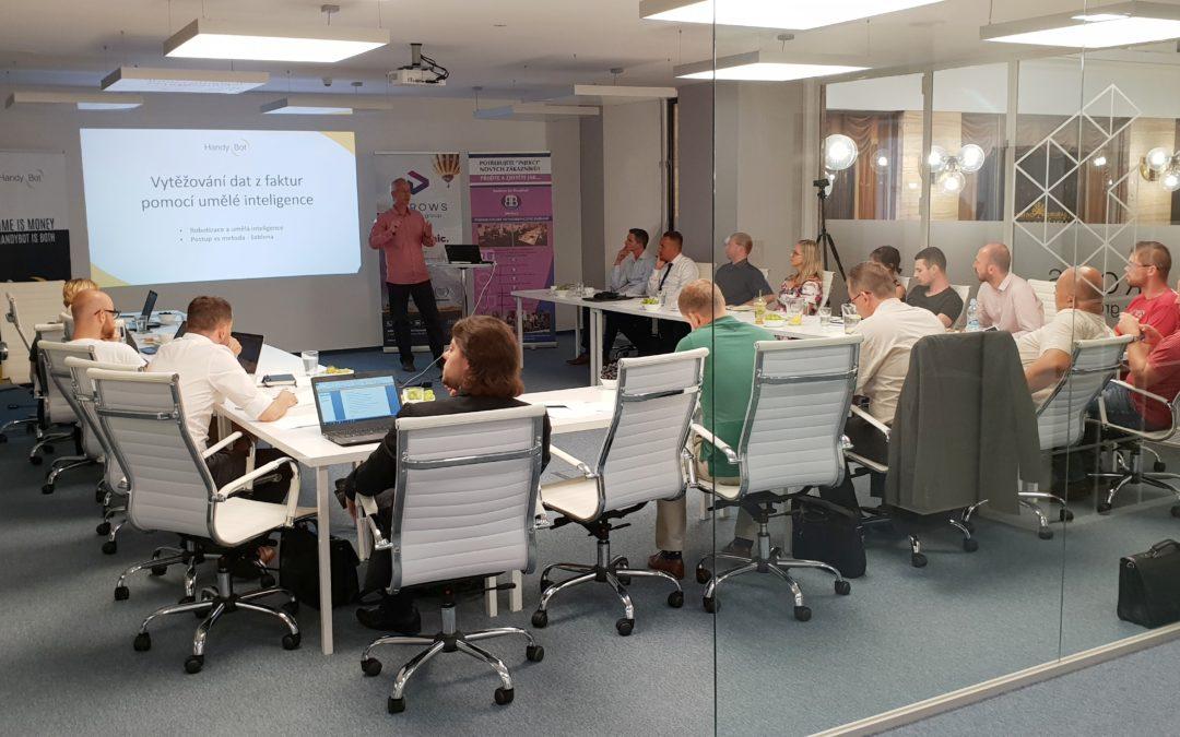 Workshop o softwarové automatizaci měl velký ohlas
